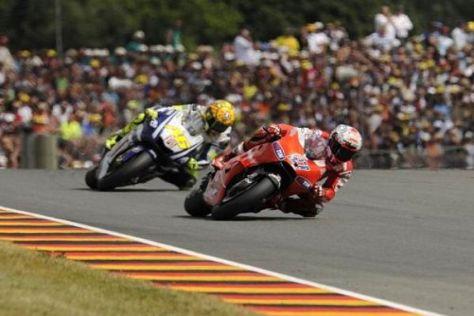 Valentino Rossi kann es Casey Stoner offenbar nicht recht machen