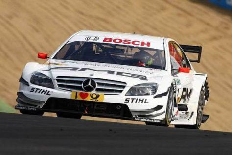 Der Schotte Paul Di Resta ist in Brands Hatch ganz oben auf.