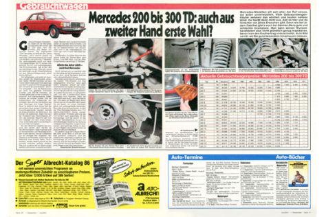 Mercedes 200 bis 300 TD