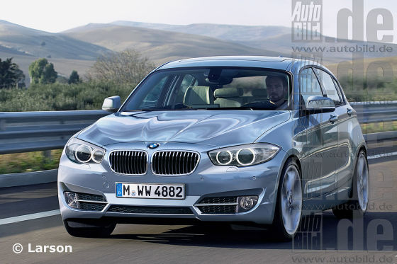 BMW 1er Illustration