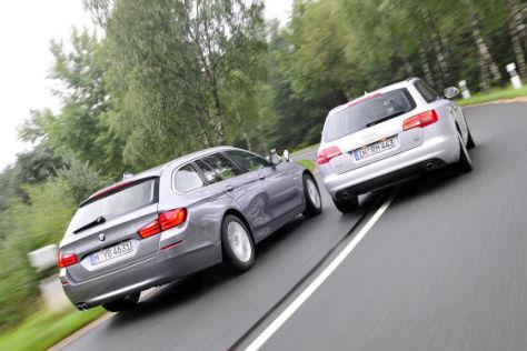Audi A6 Avant BMW 5er Touring