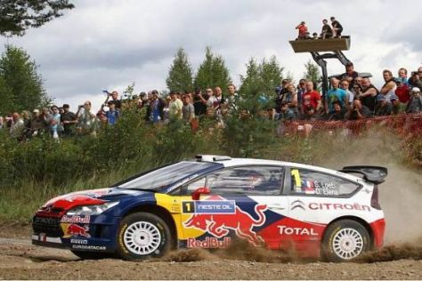 Sébastien Loeb ist auf dem Weg zu seinem siebten Weltmeistertitel