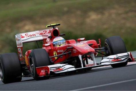 Fernando Alonso will die anderen im Titelkampf nicht enteilen lassen