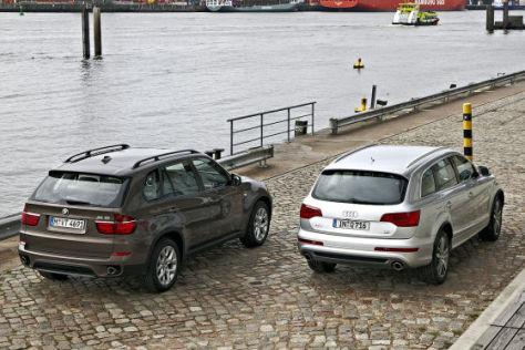 Audi Q7 BMW X5