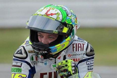Valentino Rossi hat sich mit der Strecke in Aragón vertraut gemacht