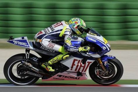 Valentino Rossi sucht weiter nach seiner Form, ist aber schon wieder sehr zufrieden