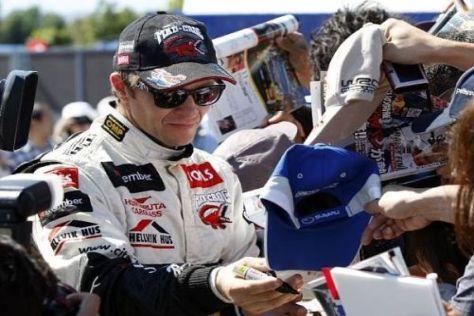Petter Solberg geht als Führender in den zweiten Tag der Rallye Japan
