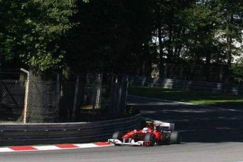 Fernando Alonso sieht sich und Ferrari auf einem guten Weg in Monza