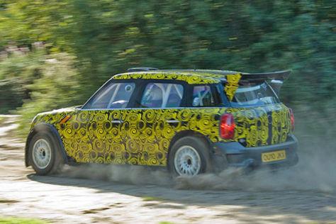 Mini Countryman WRC (2011) Erlkönig
