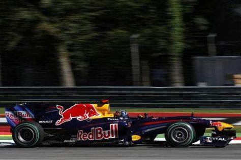 Sebastian Vettel darf sich freuen: Red Bull ist deutlich schneller als 2009