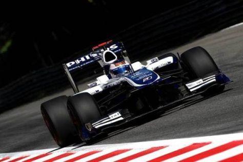 Rubens Barrichello konnte das Programm trotz eines Problems komplett abspulen