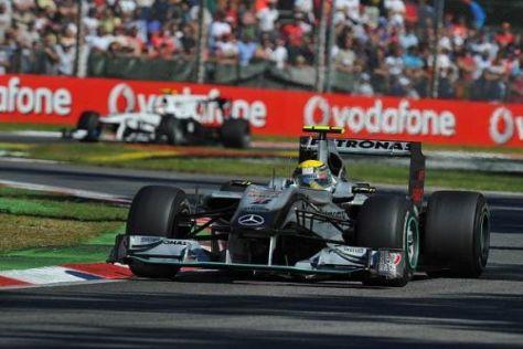 Nico Rosberg holte als Siebter das Maximum aus dem Auto heraus