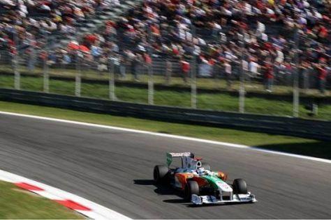 Adrian Sutil verpasste die Top 10 nur knapp