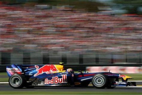 Mark Webber ist zufrieden, wie es für ihn im Qualifying gelaufen ist