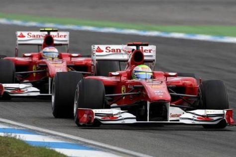 Felipe Massa vor Fernando Alonso in Hockenheim: Und dann kam der Funk...