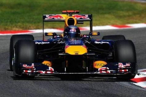 Sebastian Vettel brachte den Red Bull mit guter Taktik noch auf Rang vier
