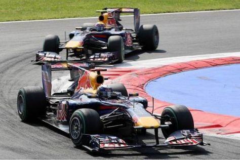 Sebastian Vettel sorgte im Monza-Rennen für einen Schreckmoment