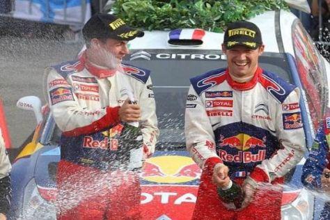 Sébastien Ogier und Julien Ingrassia feiern ihren zweiten Sieg in der WRC