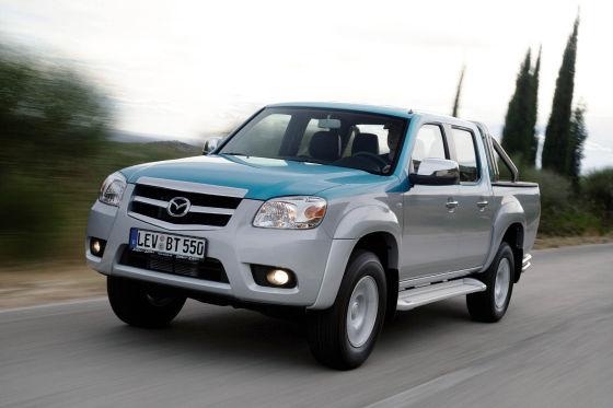 Mazda BT-50 Facelift 2008