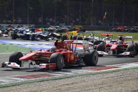 Titelkampf: Fernando Alonso hat sich durch den Monza-Sieg gut positioniert