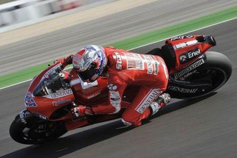 Ducati-Pilot Casey Stoner will in Aragón wieder an der Spitze kämpfen