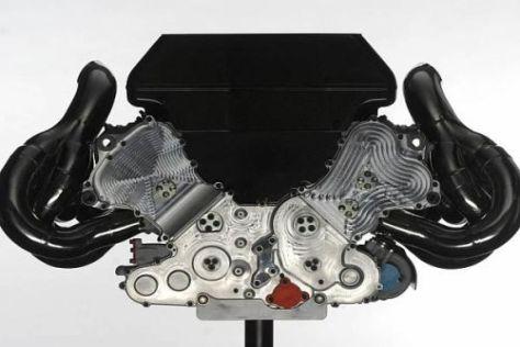 Dem Renault-RS27-V8-Motor fehlen angeblich bis zu 35 PS auf Mercedes