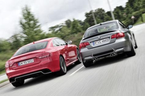 Audi RS 5 BMW M3