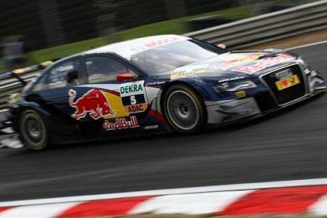 Matthias Ekström wird in den restlichen Rennen voll auf Angriff fahren