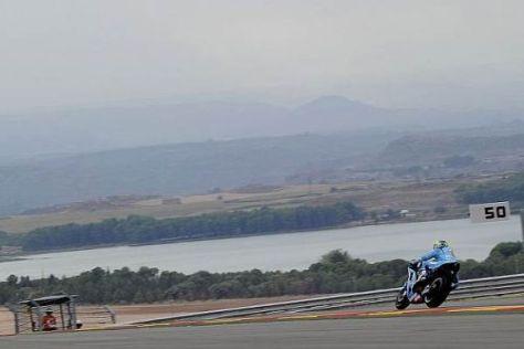 Álvaro Bautista vertritt in Aragonien ganz alleine die Farben Suzukis