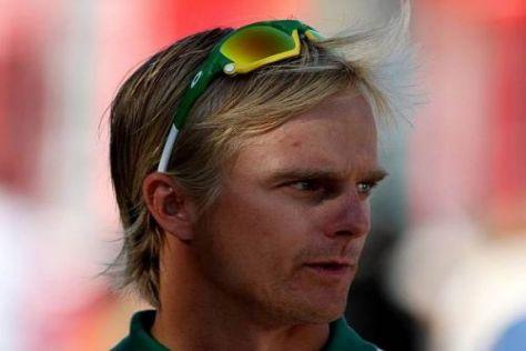 Seine merkwürdige Brille wird Heikki Kovalainen in Singapur nicht brauchen