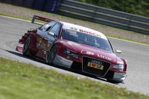 Mike Rockenfeller steht als bester Audi-Pilot auf Startplatz drei