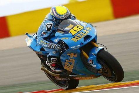 Suzuki-Pilot Álvaro Bautista hat in Aragón tapfer gekämpft und Rang acht erobert