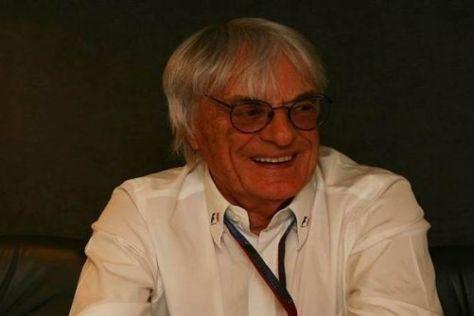 Bernie Ecclestone freut sich schon auf die Indien-Premiere 2011