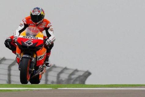 Tritt Andrea Dovizioso auch 2011 in den Farben des Honda-Werksteams auf?