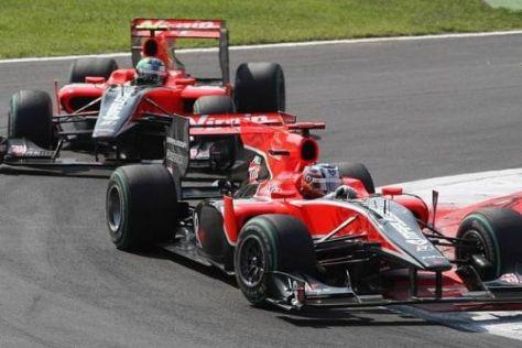 Timo Glock und Lucas di Grassi wollen in Singapur vor Lotus landen