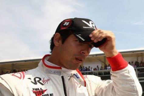 Ein Belgier im Nacken: Muss Lucas di Grassi bei Virgin seinen Hut nehmen?