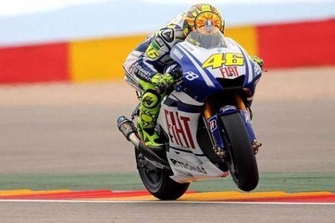 Valentino Rossi wechselt die Farben und tritt ab 2011 in Ducati-Rot auf den Plan