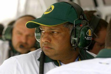 Teamchef Tony Fernandes liegt mit der Lotus-Gruppe offensichtlich im Clinch