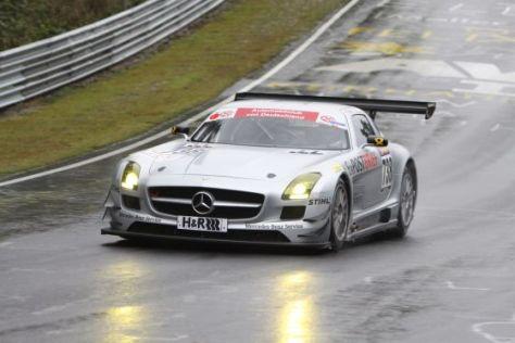 SLS AMG GT3 auf dem Nürburgring