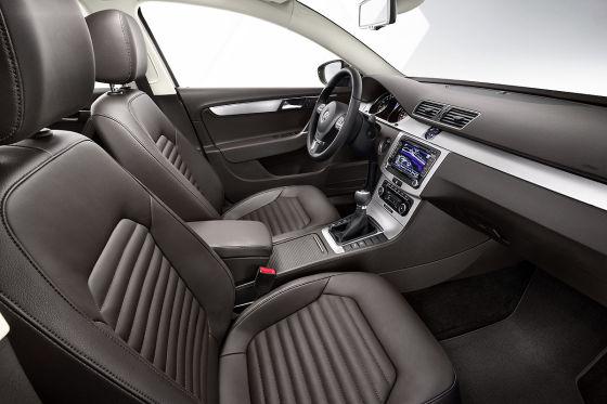 VW Passat B7 Cockpit