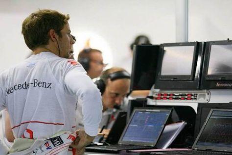 Jenson Button muss noch analysieren, wie er die Options besser nutzen kann