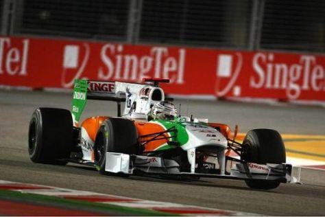 Adrian Sutil hatte sich vor dem Qualifying eine bessere Position ausgeguckt