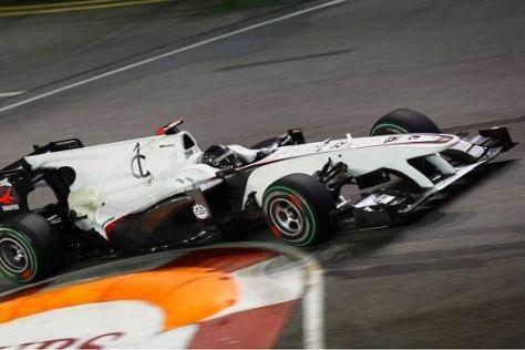 Nick Heidfeld hatte sich im ersten Qualifying etwas mehr erhofft