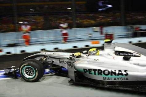 Nico Rosberg hatte sich vom Qualifying etwas mehr erhofft