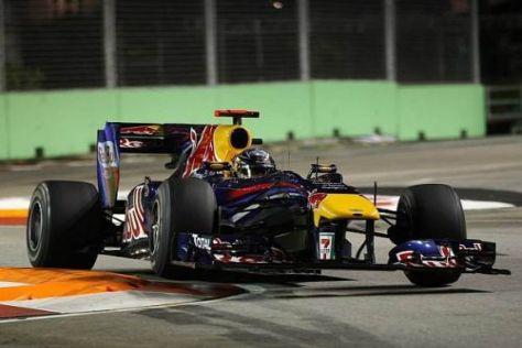Sebastian Vettel hatte die Pole-Position zum Greifen nahe