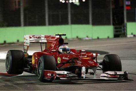 Fernando Alonso war selbst über seine Pole-Position überrascht