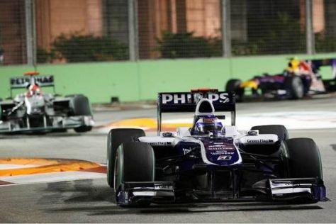 Rubens Barrichello war mit seinem Rennen nicht ganz zufrieden