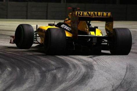 Neben der Spur: Renault war in Singapur nicht auf zufrieden