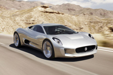 Jaguar C-X75 Concept-Car