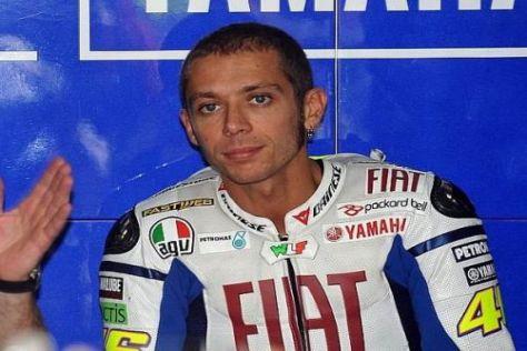 Valentino Rossi erwartet sich für Motegi ein besonders hartes Rennen